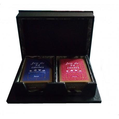Boîte 2 jeux de 52 cartes